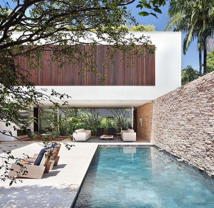 49 fotos de paisagismo para piscinas inspire se for Presupuesto para una alberca
