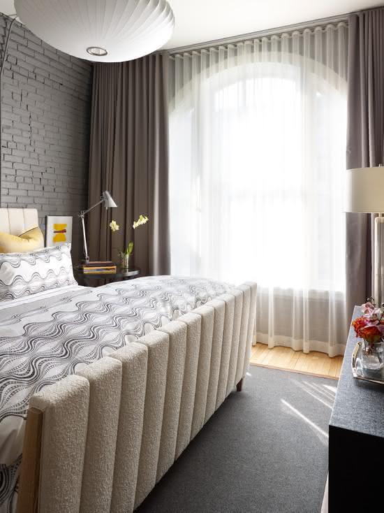 ambientes com cortinas modernas : 50 Ambientes com Cortinas Modernas e Elegantes - Fotos