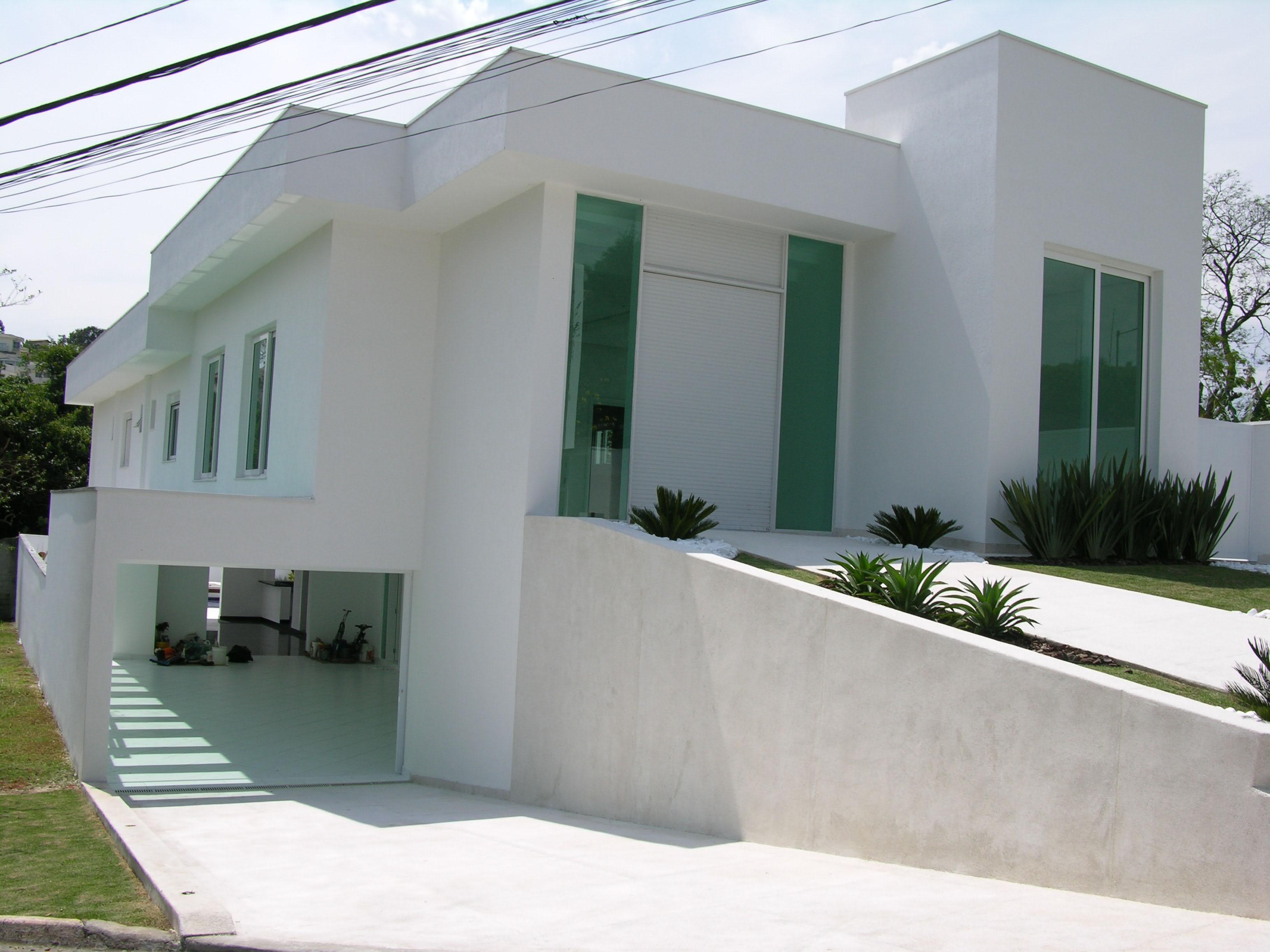 50 modelos de garagem para o seu projeto inspire se for Modelo de casa x dentro