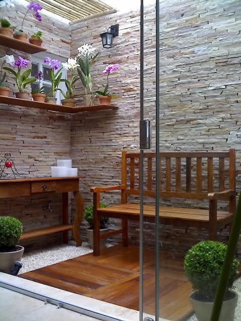 50 jardins pequenos incr veis para casas e apartamentos for Jardines pequenos techados