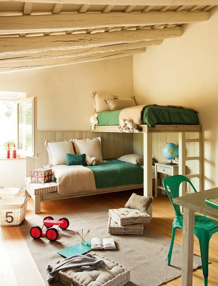50 casas de fazenda decoradas incr veis para inspirar - Ver habitaciones infantiles ...