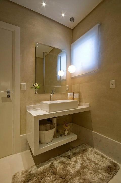 50 lavabos modernos lindos para te inspirar fotos for Armarios para lavabos