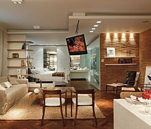 50 paredes com tijolinhos vista inspiradoras for Programa para decorar interiores