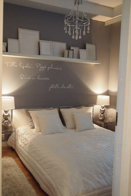 50 quartos de casal cinza inspiradores fotos for Mobili quarto