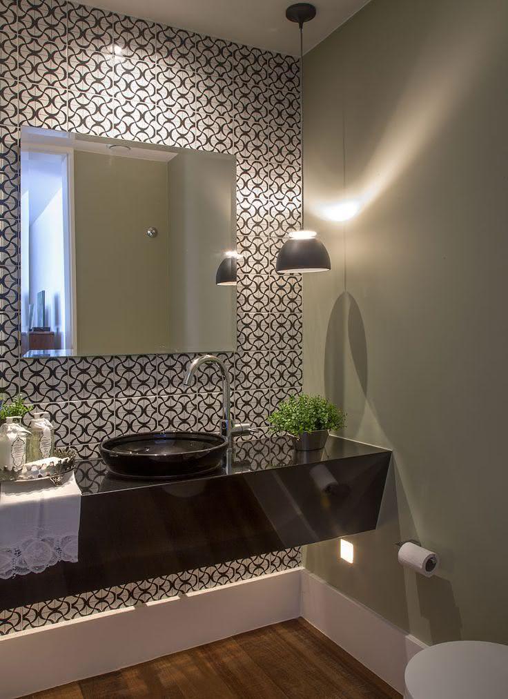 50 lavabos modernos lindos para te inspirar fotos - Papel de pared moderno ...