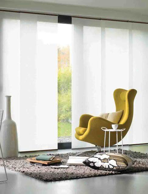50 ambientes com cortinas modernas e elegantes fotos for Cortinas y estores modernos