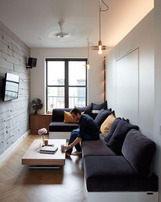 Fotos decorao salas ambientes pequenos 68
