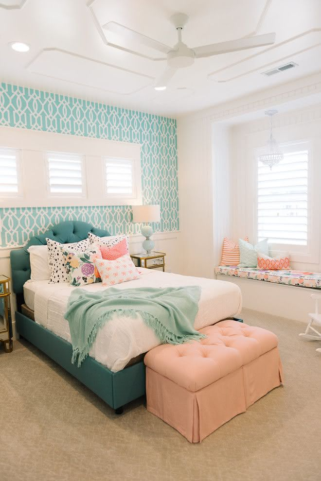 90 quartos de adolescentes com fotos inspiradoras 1000 ideas about rainbow girls bedroom on pinterest