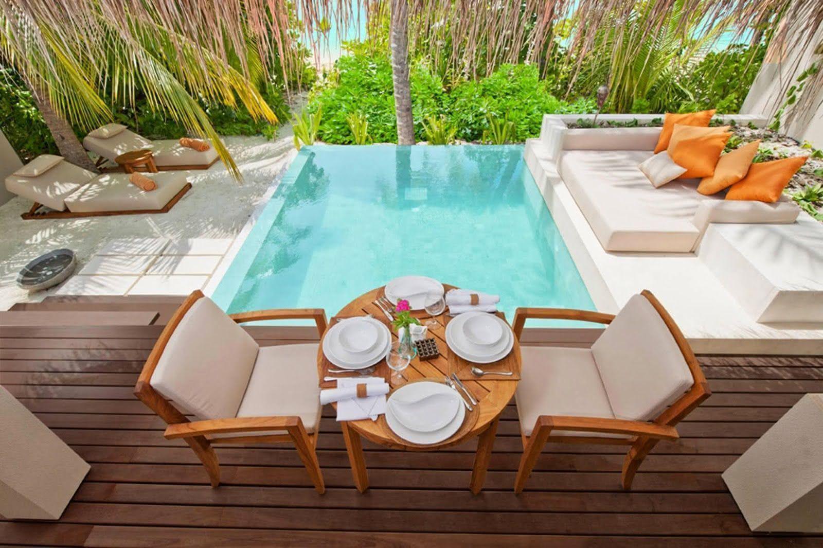 90 piscinas pequenas modelos projetos fotos lindas for Ideas para piscinas pequenas