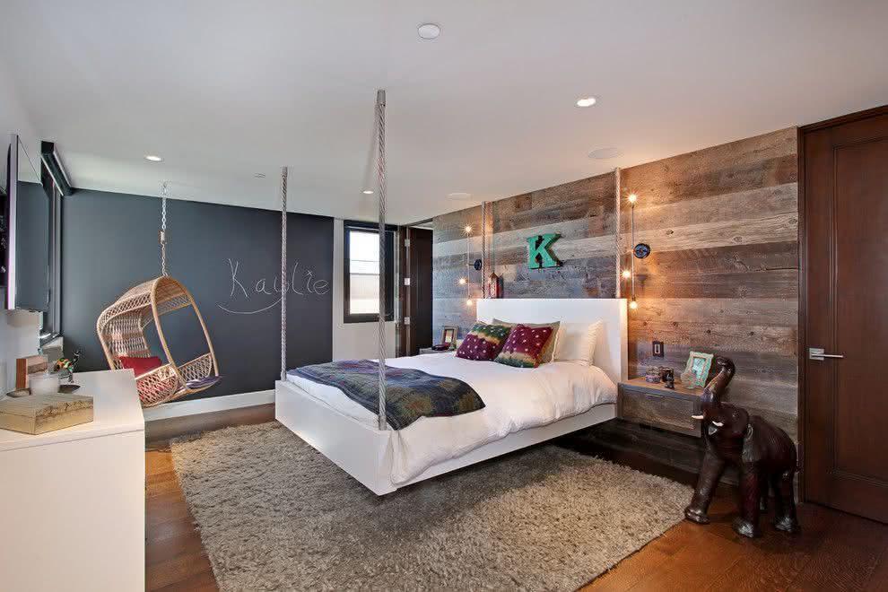 70 modelos de camas suspensas incr veis com fotos - Modelo de camas ...