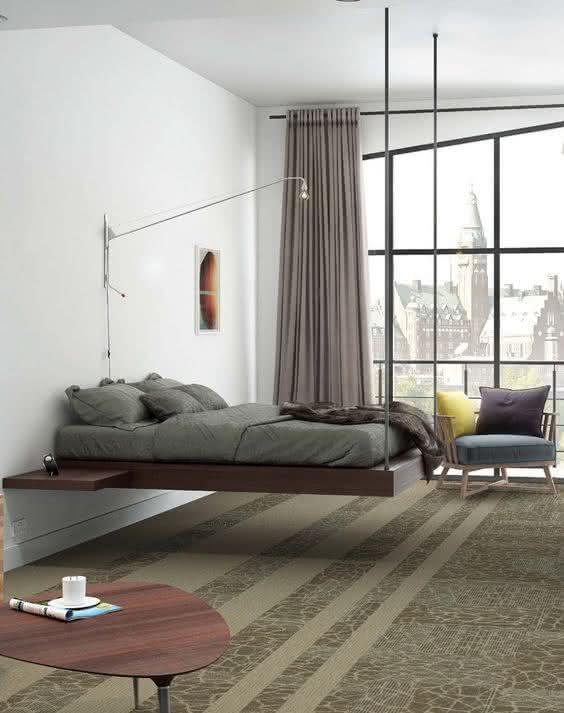 70 modelos de camas suspensas incr veis com fotos for Camas 2 por 2