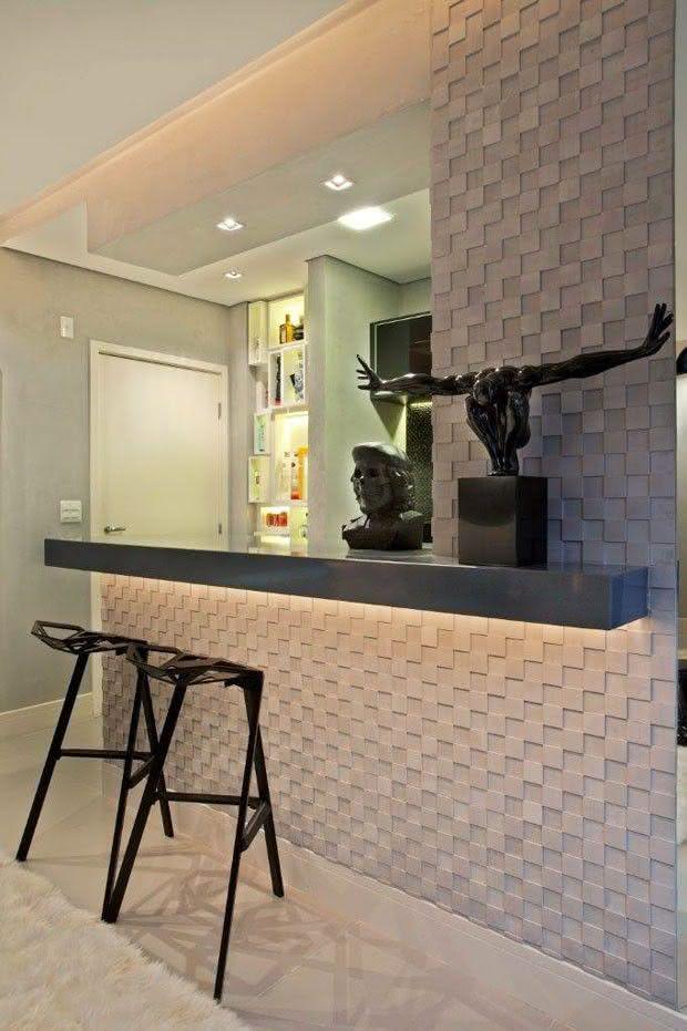 50 paredes com texturas diferentes para você se inspirar