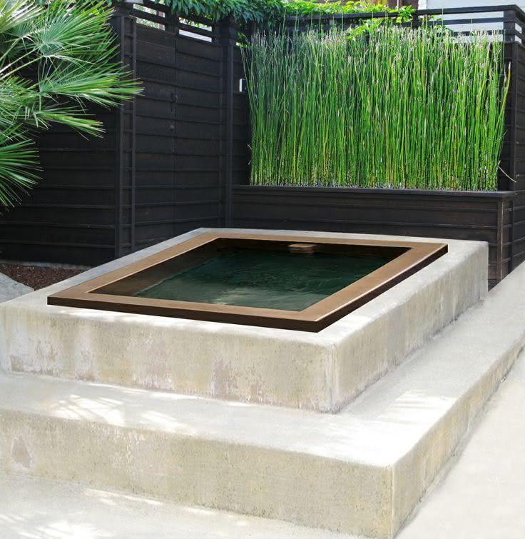 Japanese Style Patio Bamboo