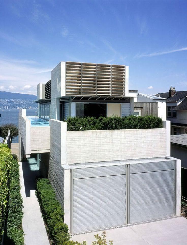 Portão residencial de alumínio