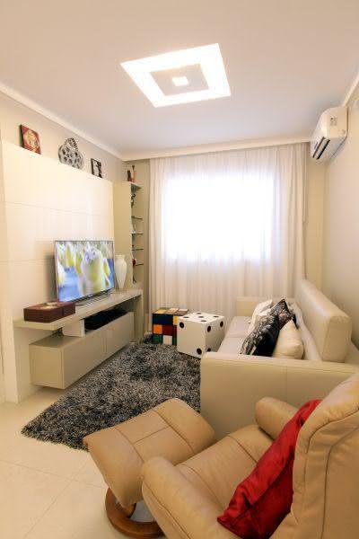Imagens Sala De Estar Pequena ~ Salas de Estar Pequenas 77 Projetos Incríveis com Fotos