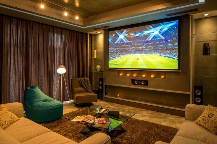 Sala De Tv Moderna E Simples.65 Salas De Tv Pequenas Decoradas Para Voce Se Inspirar