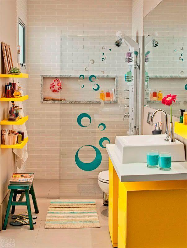 50 Modelos de Box para Banheiro para Você se Inspirar -> Nicho De Banheiro Barato