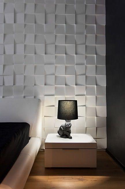 50 paredes com texturas diferentes para voc se inspirar - Pintura para mosaicos piso ...
