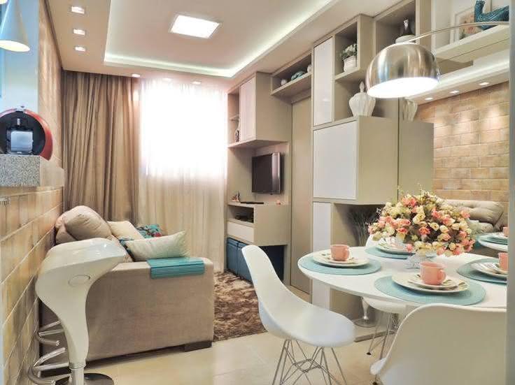 50 salas de estar pequenas e lindas para te inspirar