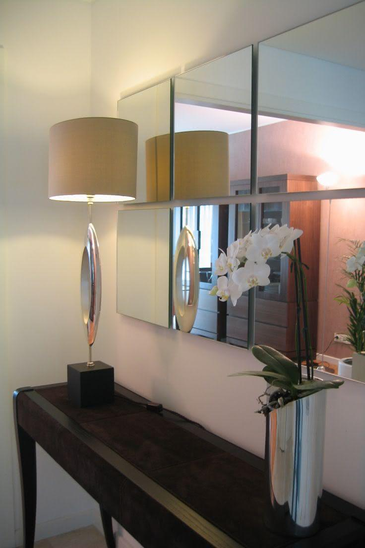 50 espelhos decorativos inspiradores para seu projeto for Espejos hall entrada