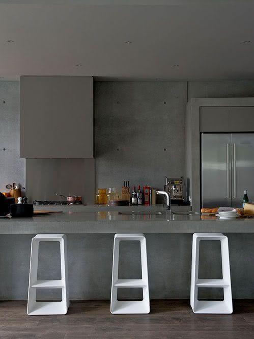 Banqueta para cozinha com design moderno