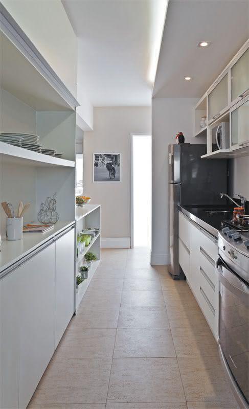 60 Pisos para Cozinha Modelos e Tipos e Materiais # Bancada Para Cozinha Onde Comprar