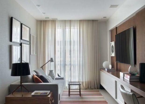 Salas de estar pequenas: 77 belos projetos para se inspirar