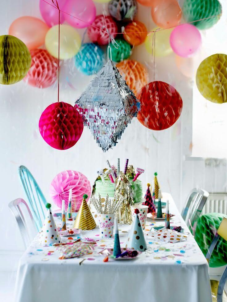 85 Ideias de Decoraç u00e3o com Balões Impressionantes! -> Decoração Com Balões Para Aniversário