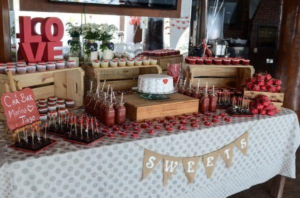 50 Ideias para Decorar uma Festa de Noivado Fotos -> Decoração De Noivado