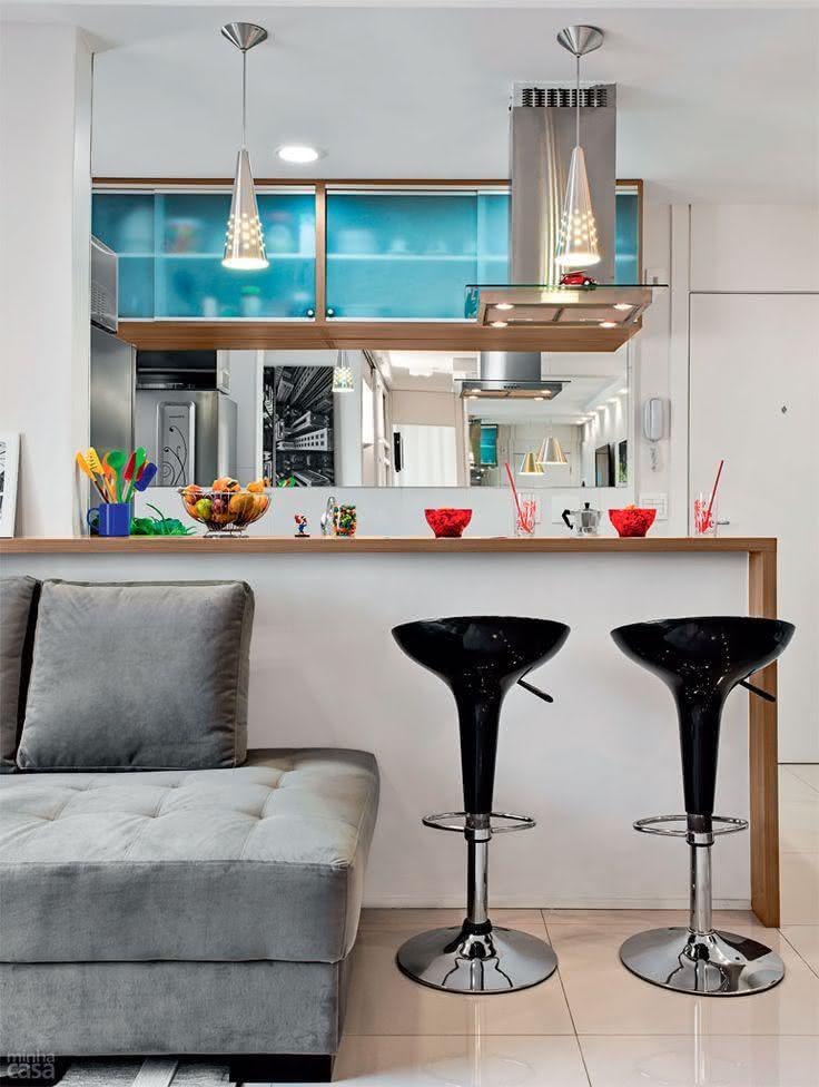 50 banquetas para cozinhas modelos e fotos - Wohnzimmergestaltung 3d ...