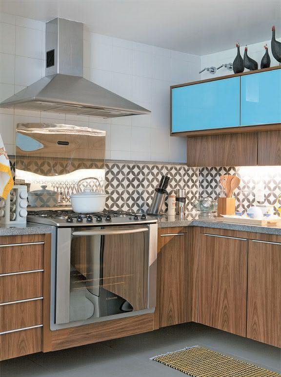 50 Cozinhas Com Azulejos Inspiradores Para Seu Projeto