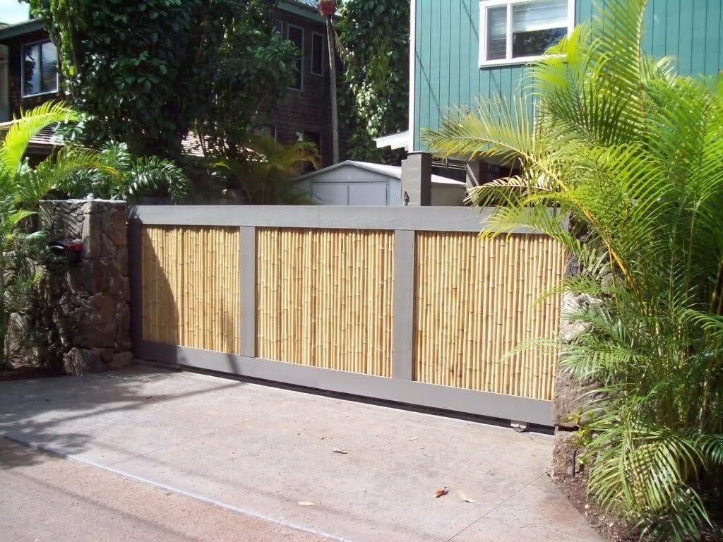 Para um projeto mais rustico, abuse do bambu!