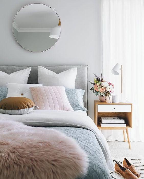 cores para quartos de casais veja 125 fotos com exemplos. Black Bedroom Furniture Sets. Home Design Ideas