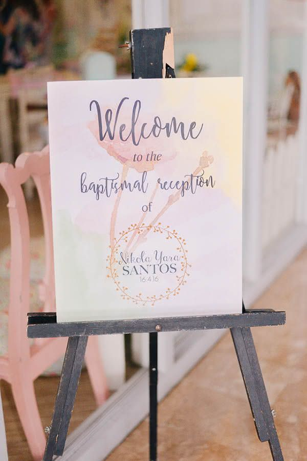 Placas na entrada são sempre bem-vindas!