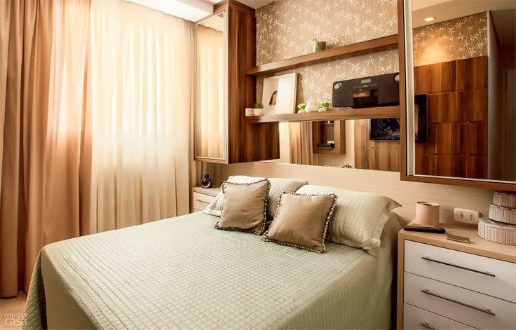decoracao de apartamentos pequenos quarto casal – Doitricom