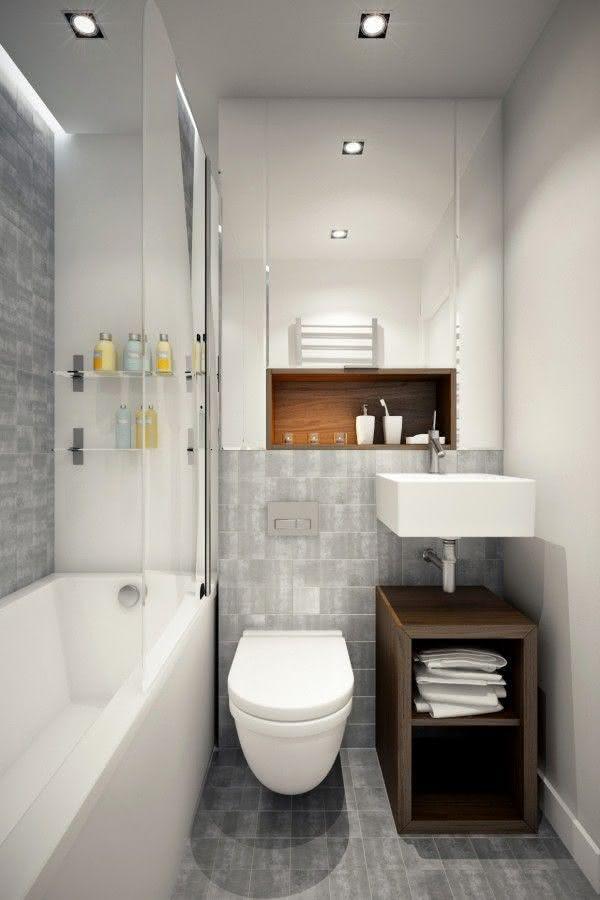 #474711 100 Banheiros Simples e Pequenos Inspiradores Fotos 600x900 px revestimento para banheiro pequeno e simples