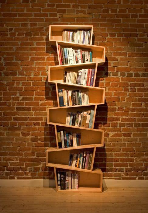 Estantes de livros