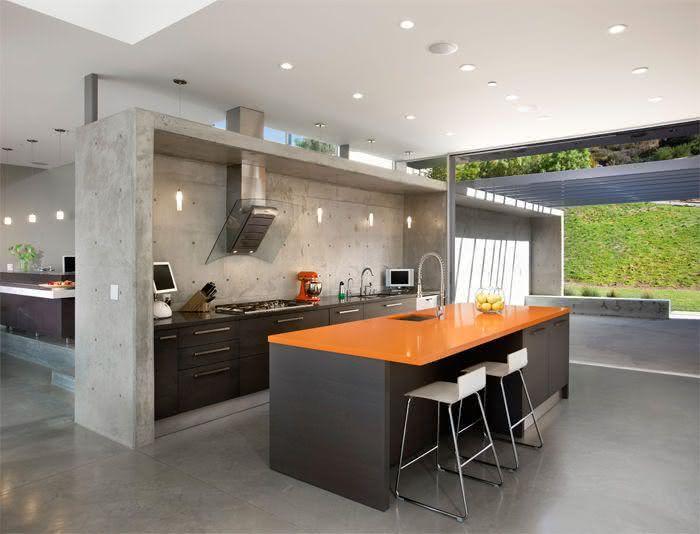 imagem 18 bancada em granito preto para cozinha pequena