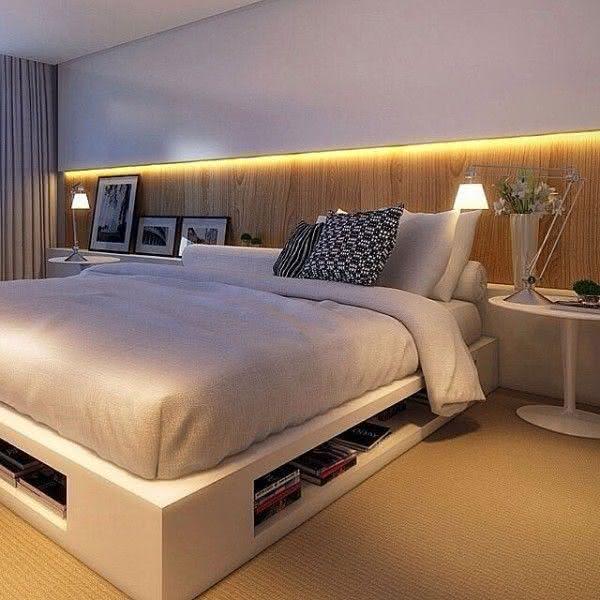 95 quartos de casal pequenos e simples decorados for Pequeno mueble para dormitorio adulto