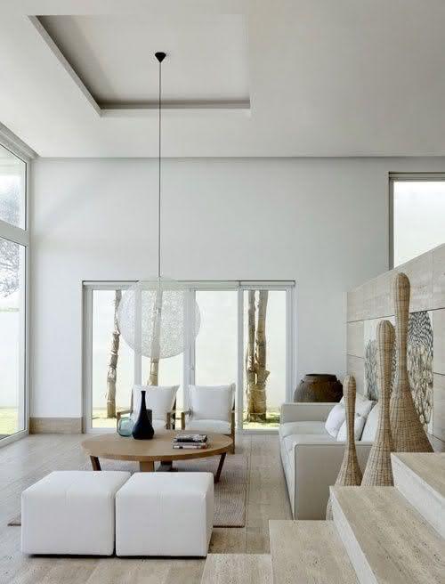 50 ambientes com mármore travertino como revestimento