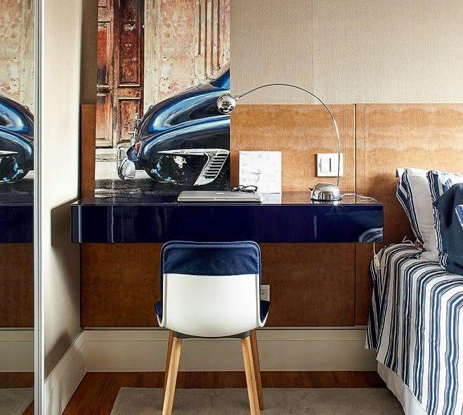 escrivaninhas para quartos : 50 Escrivaninhas para Quartos de Casal e de Solteiro