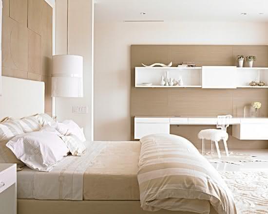 50 Escrivaninhas para Quartos de Casal e de Solteiro ~ Quarto Casal Pequeno Com Escrivaninha