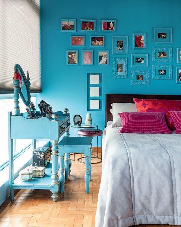 decoracao quarto azul turquesa e amarelo – Doitri com ~ Quarto Verde Casal
