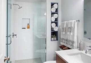 Banheiros simples e pequenos: 100 inspirações para decorar