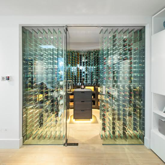 50 Amazing Wine Storage Design Ideas: 50 Adegas De Vinhos Personalizadas Para Te Inspirar