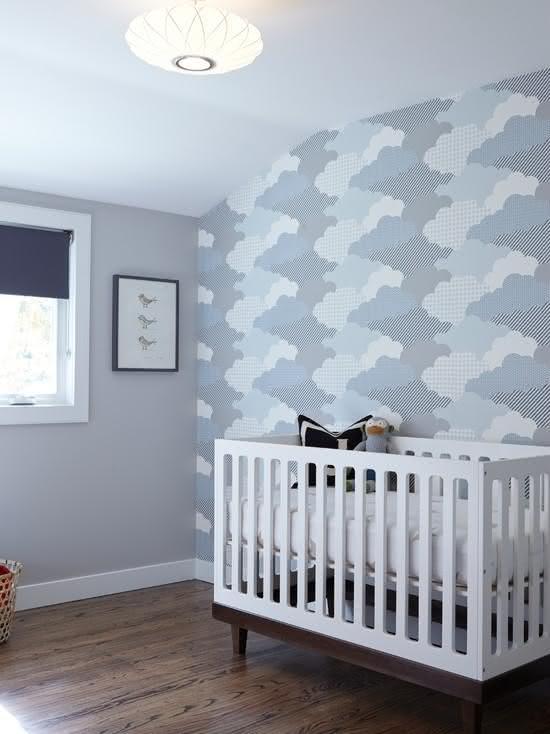 50 quartos de beb s com pap is de paredes lindos - Estores habitacion bebe ...