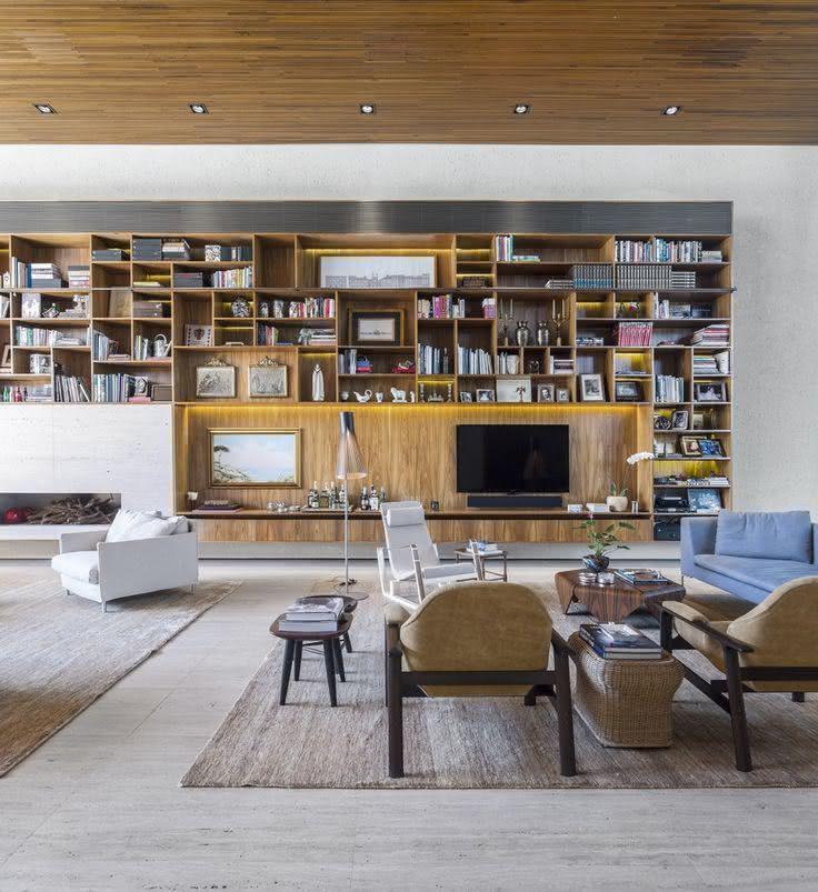 Salas de estar modernas: veja ideias e projetos para se inspirar