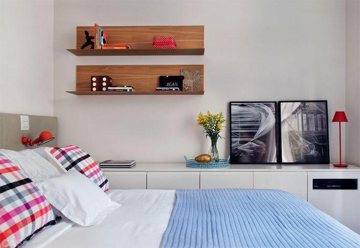 Armario Para Ropa Blanca Ikea ~ 95+ Quartos de Casal Pequenos e Simples Decorados