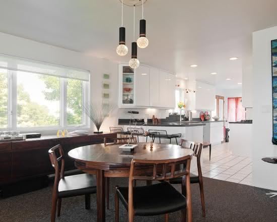 Tapete Sala De Jantar Mesa Redonda ~ 50 Mesas Redondas para Sala de Jantar Inspiradoras