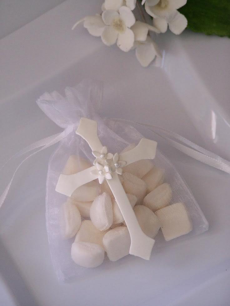 Decoração para doces de batizado